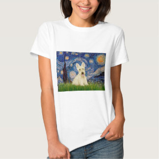 Scottish Terrier (W5) - Starry Night Tshirts