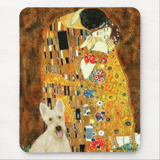 Scottish Terrier (W5) - The Kiss Mouse Pad