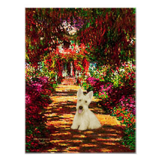 Scottish Terrier (W5) - The Path Poster