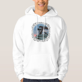 Scottish Terrier Watches the Sunset Hoodie