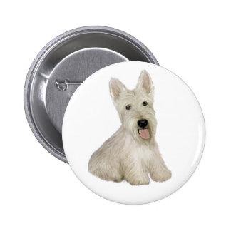 Scottish Terrier - wheaten Pin