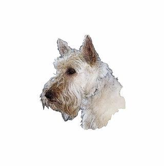 Scottish Terrier (Wheaten) Photo Statuette