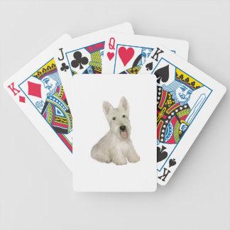 Scottish Terrier - wheaten Bicycle Poker Cards