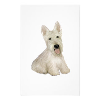 Scottish Terrier - wheaten Stationery Paper