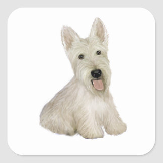 Scottish Terrier - wheaten Stickers