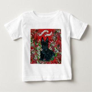 Scottish Terrier Xmas T-shirts