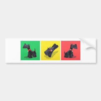 Scottish Terriers Bumper Sticker
