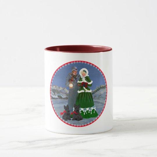 Scottish Terriers Christmas Carol Mug