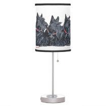 Scottish Terriers Desk Lamp