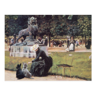 Scottish Terriers Enjoy the Park Postcard
