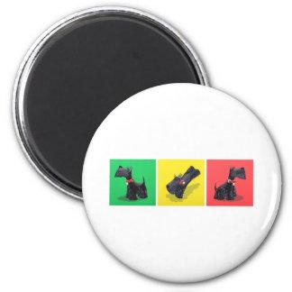 Scottish Terriers Magnet