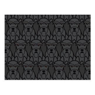 Scottish Terriers Postcard