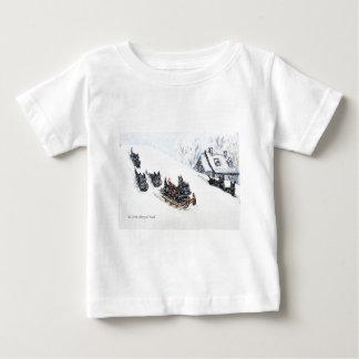 Scottish Terriers Sledding Infant T-shirt