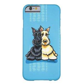 Scottish Terriers Two of a Kind Barely There iPhone 6 Case