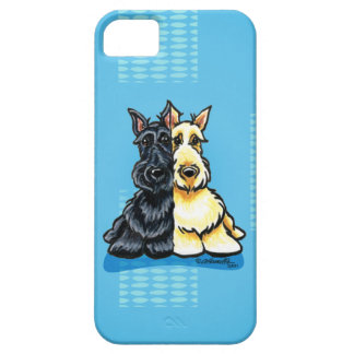 Scottish Terriers Two of a Kind iPhone 5 Cases