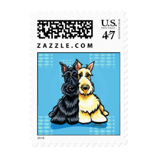 Scottish Terriers Two of a Kind Postage