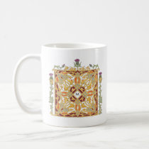 Scottish Thistle and Crown Celtic Knot & Initial