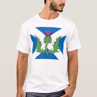 Scottish Thistle and Saltire T-Shirt