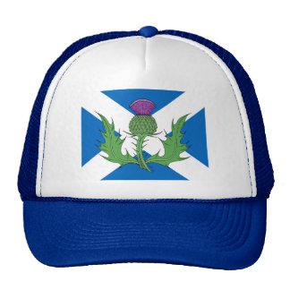 Scottish Thistle and Saltire Trucker Hat