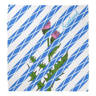 Scottish thistle bandana