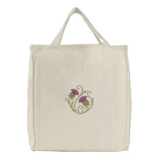 Scottish Thistle Canvas Bag