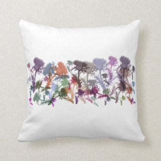 Scottish Thistle Flower Scatter Cushion Throw Pillow