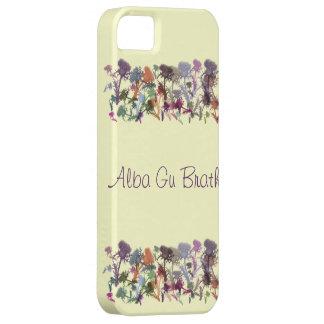 Scottish Thistle Gaelic Alba Gu Brath i-Phone Case iPhone 5 Covers