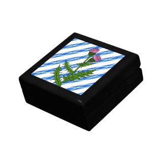 Scottish thistle keepsake box