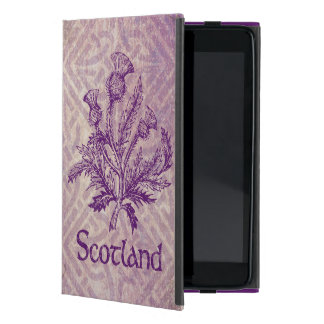Scottish Thistle Purple Celtic Knot iPad Mini Case