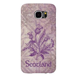 Scottish Thistle Purple Celtic Knot Samsung Galaxy S6 Case