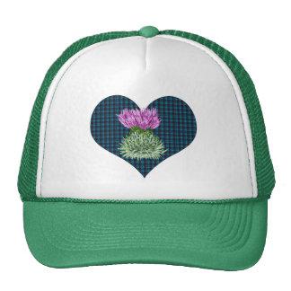 Scottish Thistles and Hearts Trucker Hat