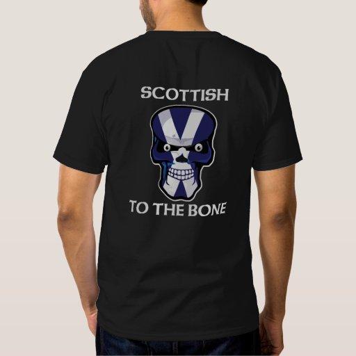 Scottish to the Bone T-shirts