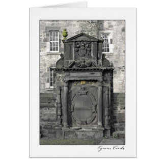 Scottish Tombstone Cards