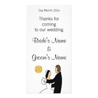 Scottish Wedding Souvenirs, Gifts, Giveaways Card