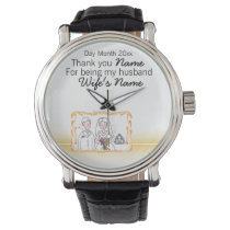 Scottish Wedding Souvenirs, Gifts, Giveaways Watch