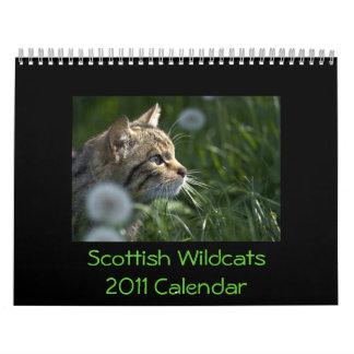 Scottish Wildcats 2011 Calendar