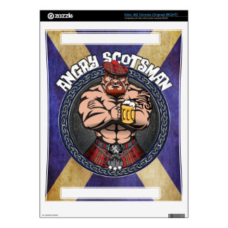 Scottish XBox Decal For The Xbox 360