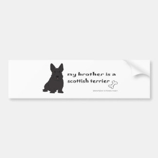 ScottishTerrierBrother Bumper Sticker