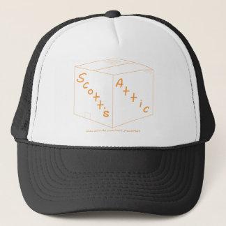 Scott's Attic Logo Gear Trucker Hat