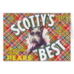Scotts Best Pears - Fruit Crate Label