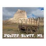 Scott's Bluff in present day Nebraska Postcard