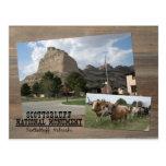 Scotts Bluff Nebraska National Monument Park USA Postcard