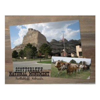 Scotts Bluff Nebraska National Monument Park USA Postcard