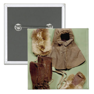 Scott's clothing used on the Antarctic Pinback Button