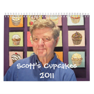 Scott's Cupcake Calendar 2011