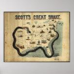 Scott's Great Snake Poster