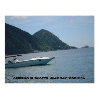 scotts head dominica. postcard