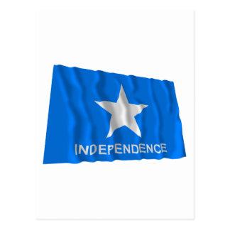 Scott's Independence Flag Postcard