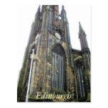 Scotts Monument Edinburgh postcard