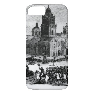 Scott's Triumphal Entry Into Mexico_War Image. iPhone 8/7 Case